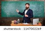 teacher bearded man tell... | Shutterstock . vector #1147002269