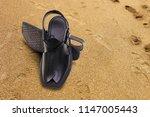 afghani style peshawari sandal... | Shutterstock . vector #1147005443