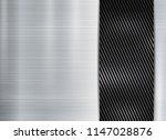 abstract metallic frame carbon... | Shutterstock .eps vector #1147028876