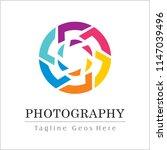 photography logo design | Shutterstock .eps vector #1147039496