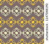 ethnic boho seamless pattern.... | Shutterstock .eps vector #1147048190