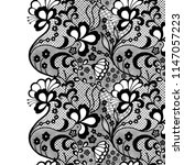 seamless lace border. vector... | Shutterstock .eps vector #1147057223