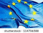 European Union Flag Against Th...