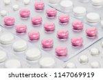 medication many pills | Shutterstock . vector #1147069919