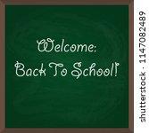 back to school. vector... | Shutterstock .eps vector #1147082489