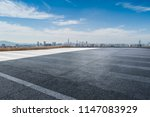 panoramic skyline and modern... | Shutterstock . vector #1147083929