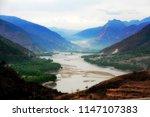 yangtze river  yunnan  china ... | Shutterstock . vector #1147107383