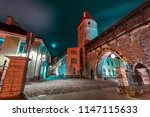 defensive tower of the tallinn... | Shutterstock . vector #1147115633