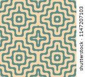 vector geometric seamless... | Shutterstock .eps vector #1147207103