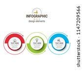 modern infographics template   Shutterstock .eps vector #1147209566