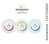 simple modern infographics...   Shutterstock .eps vector #1147210010