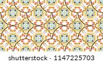colorful seamless textured... | Shutterstock . vector #1147225703