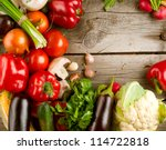 Healthy Organic Vegetables On ...