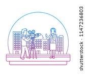 degraded line professional... | Shutterstock .eps vector #1147236803
