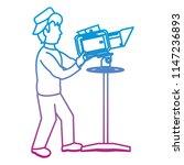 degraded line professional... | Shutterstock .eps vector #1147236893