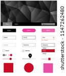 light pink  red vector design...