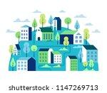 city landscape concept.... | Shutterstock .eps vector #1147269713