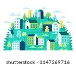 city landscape concept.... | Shutterstock .eps vector #1147269716