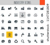 big industry icon set | Shutterstock .eps vector #1147281809