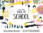 trendy vector colorful pattern... | Shutterstock .eps vector #1147302830