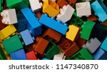 close up colorful plastic... | Shutterstock . vector #1147340870