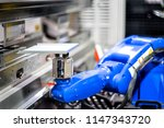 hand robot working automatic... | Shutterstock . vector #1147343720
