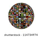 global connecting | Shutterstock . vector #114734974