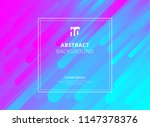 abstract colorful geometric... | Shutterstock .eps vector #1147378376