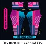leggings pants fashion... | Shutterstock .eps vector #1147418660
