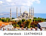 Aerial Shot Of Blue Mosque ...