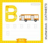 letter b uppercase cute... | Shutterstock .eps vector #1147448573