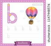 letter b lowercase cute... | Shutterstock .eps vector #1147448576