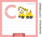 letter c uppercase cute... | Shutterstock .eps vector #1147448660
