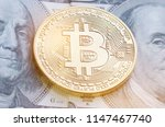 bitcoin or cryptocurrency is... | Shutterstock . vector #1147467740