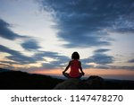 back view of young slim woman... | Shutterstock . vector #1147478270