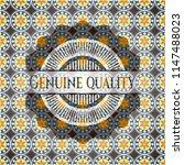 genuine quality arabic badge.... | Shutterstock .eps vector #1147488023