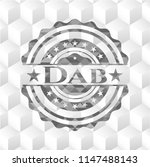 dab grey badge with geometric... | Shutterstock .eps vector #1147488143