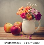 Beautiful Flower Bouquet And...