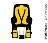 child  baby  bike seat | Shutterstock .eps vector #1147498829