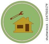 plumbing work symbol icon.... | Shutterstock .eps vector #1147503179