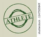 green athlete distress rubber...   Shutterstock .eps vector #1147505849