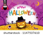 illustration vector of happy...   Shutterstock .eps vector #1147537610