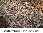preparation of firewood for the ... | Shutterstock . vector #1147547123