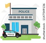 city police station department ... | Shutterstock .eps vector #1147549136