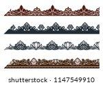 vintage ornament seamless... | Shutterstock .eps vector #1147549910