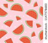 fruit seamless pattern... | Shutterstock .eps vector #1147578683