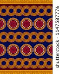 textile fashion african print... | Shutterstock .eps vector #1147587776