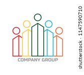 building company group icon | Shutterstock .eps vector #1147590710