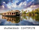 House Boat In Backwaters Near...