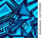 abstract seamless sport pattern ... | Shutterstock .eps vector #1147599830